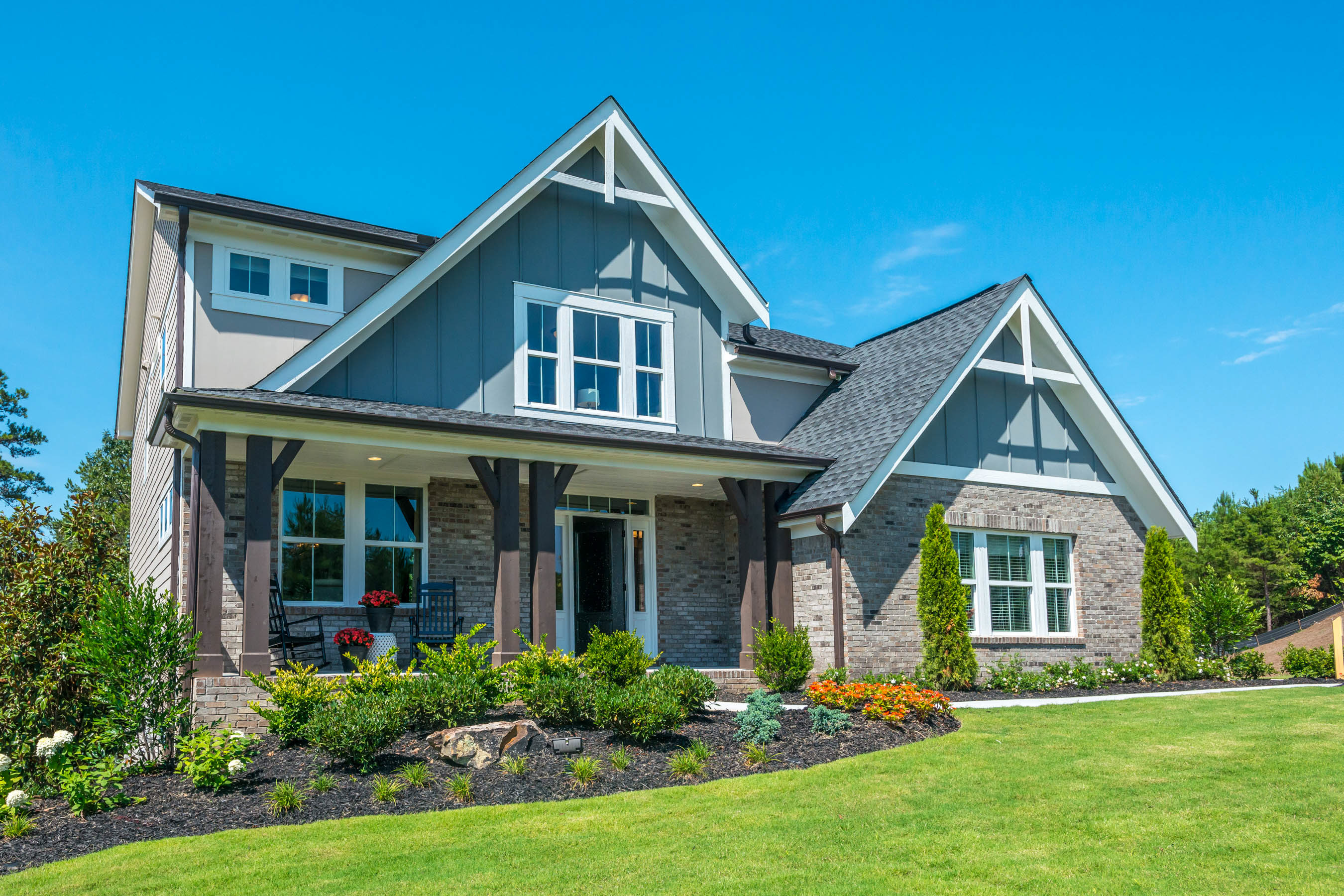 The blair floorplan by fischer homes exterior design coastal classic